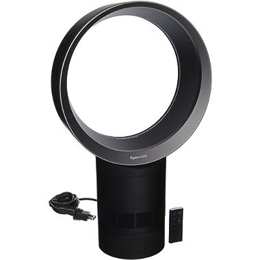Dyson Air Multiplier AM06 Table Fan, 10 Inches - Black/Iron