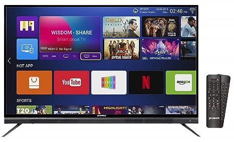 e891d3590f347 Shinco 124 cm 4K UHD Smart LED TV S50QHDR10  Amazon.in  Electronics