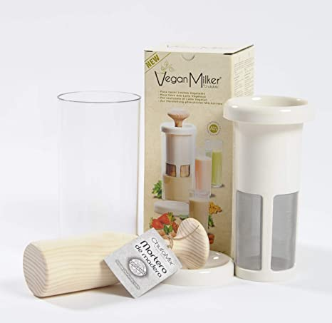 Vegan Milker Premium (by Chufamix), utensilio para Hacer leches Vegetales a Partir de