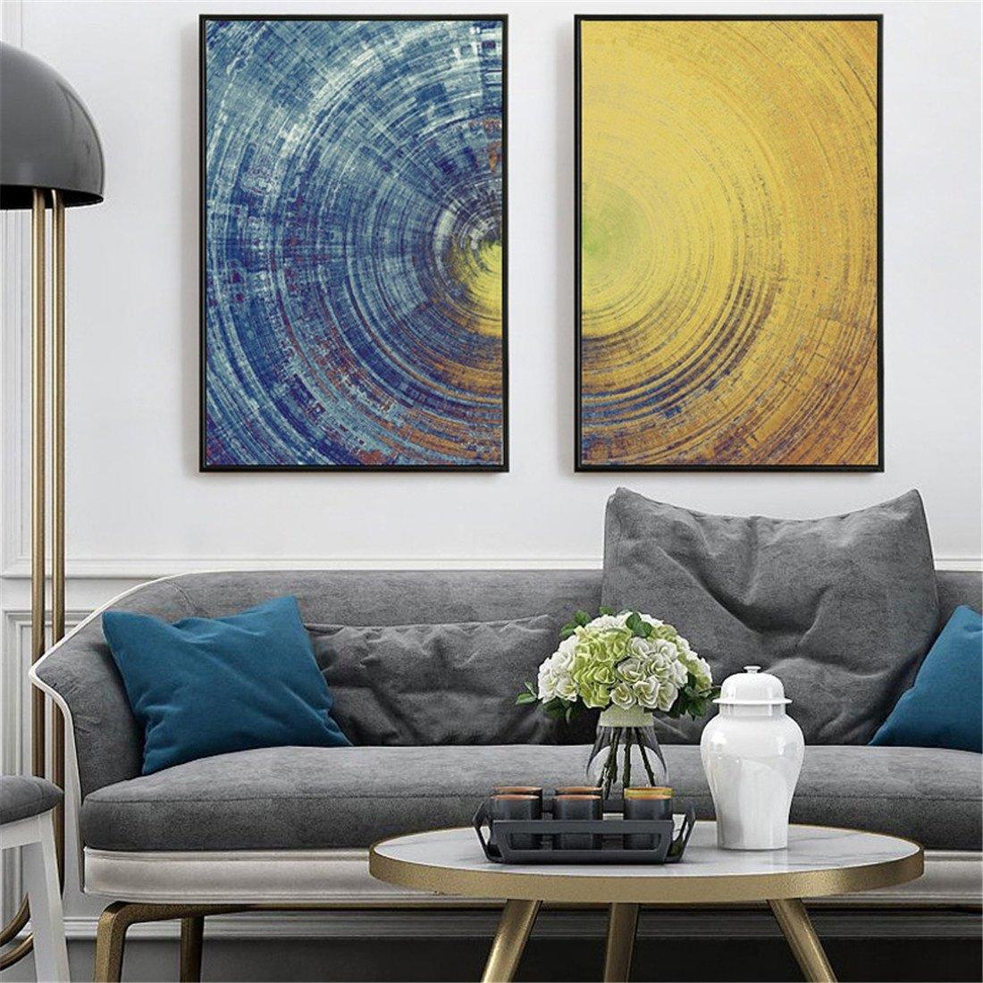 HONGLInórdico Dormitorio cabecera Abstracto Pintura Decorativa Pintura Minimalista Personalidad Creativa Salón Arte Pintura Colgantes de la Pintura 40  603.5cm