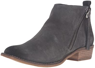 Dolce Vita Women's Sibil Ankle Bootie, Anthracite Suede, ...