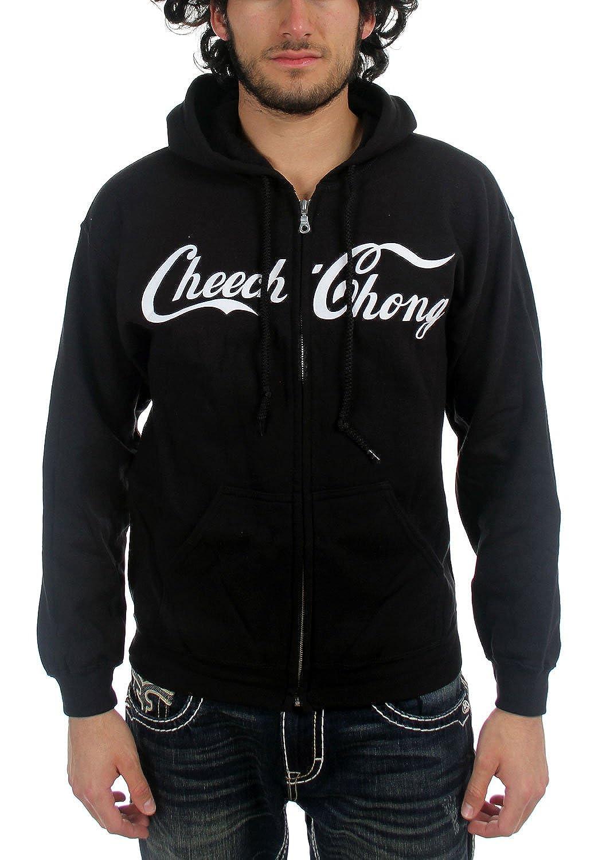 Cheech & Chong - Cola Logo Männer Kapuzenpullover In schwarz