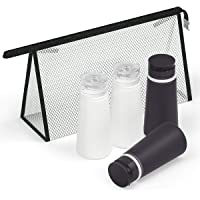 Valourgo Travel Bottles for Toiletries Tsa Approved Travel Size Containers BPA Free Leak Proof Travel Tubes Refillable…