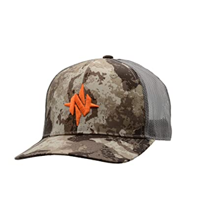 Amazon.com   Nomad Camo Trucker Cap-Veil Cervidae-One Size   Sports ... 55c2eeedb19e