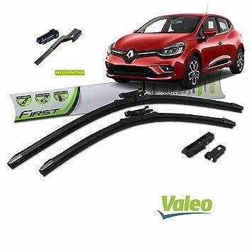 Valeo_group Valeo Juego de 2 escobillas de limpiaparabrisas Especiales para Renault Clio 4 | 650/350 mm |: Amazon.es: Coche y moto