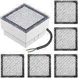 Parlat LED Paving Stone Ground Light CUS, 10x10cm, 230V, Cold White, 6 Pcs