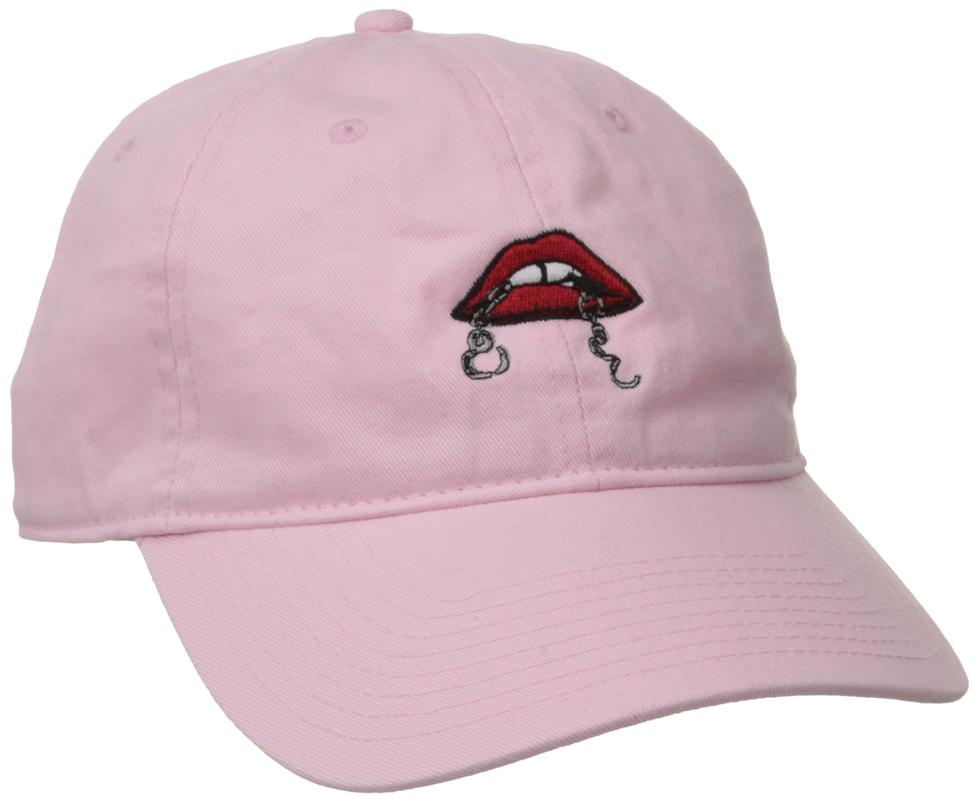 Obey Women's Tough Love Dad Hat, Light Pink, One Size