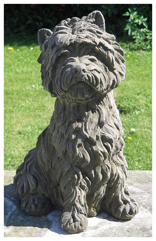 De perro de la Estatua de la West Highland Terrier Dragonstone: Amazon.es: Jardín