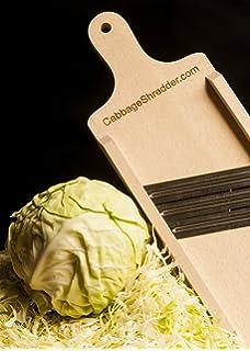 Amazon com: Weston Cabbage Shredder (70-1401-W), Stainless