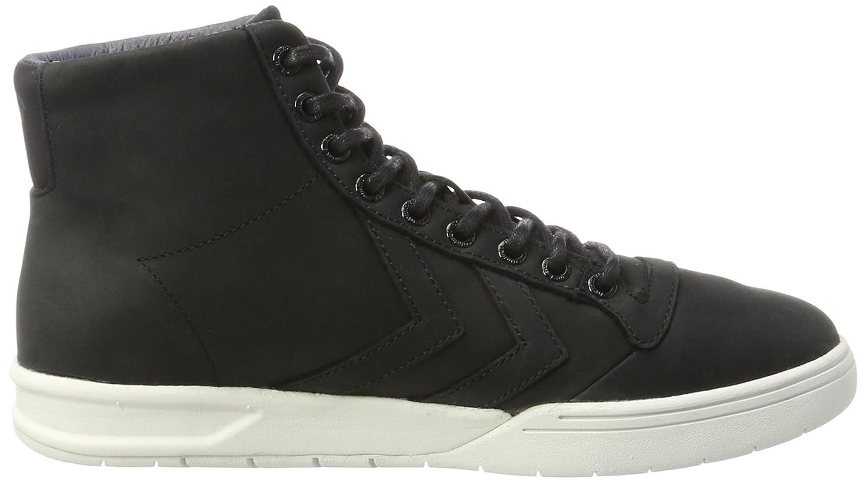 hummel Hml Stadil Winter High, Sneakers Hautes Mixte Adulte, Vert (Rosin), 44 EU