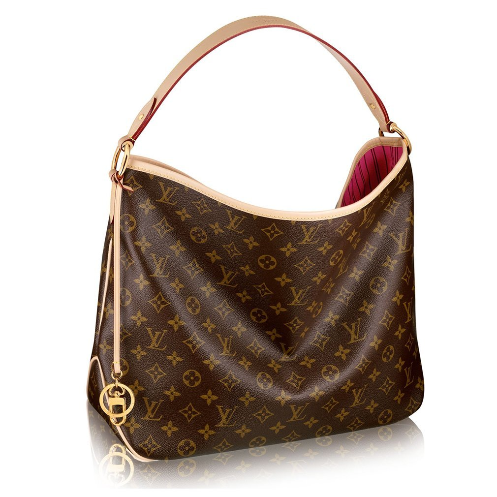 Louis Vuitton Monogram Delightful MM Handbag Article: M50156 Made in France
