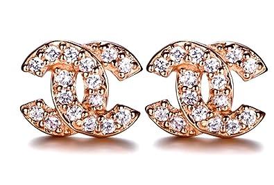 Chanel zeichen ohrringe