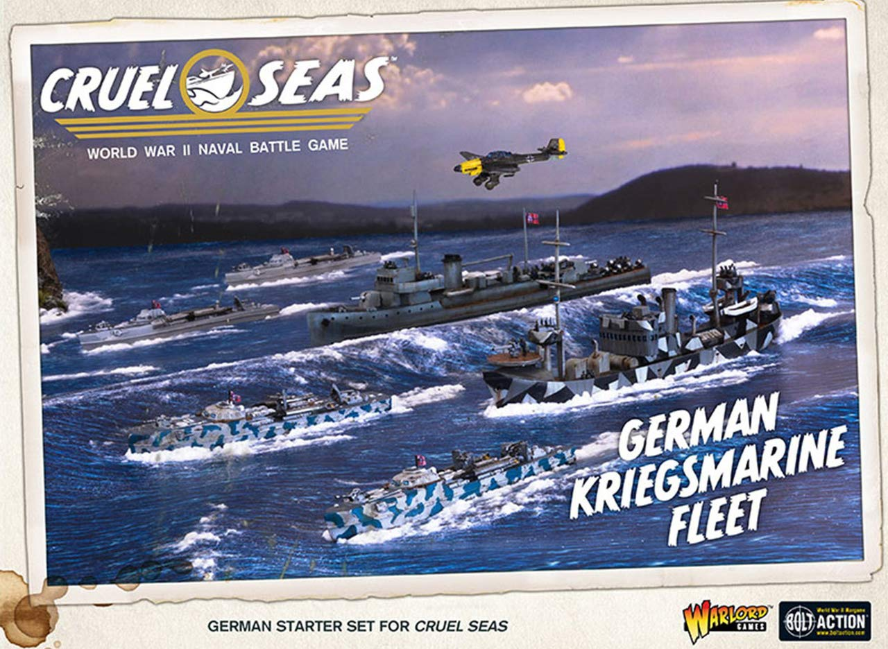 Cruel Seas German Kriegsmarine Fleet Starter Set, World War II Naval Battle Game ... by Cruel Seas (Image #2)