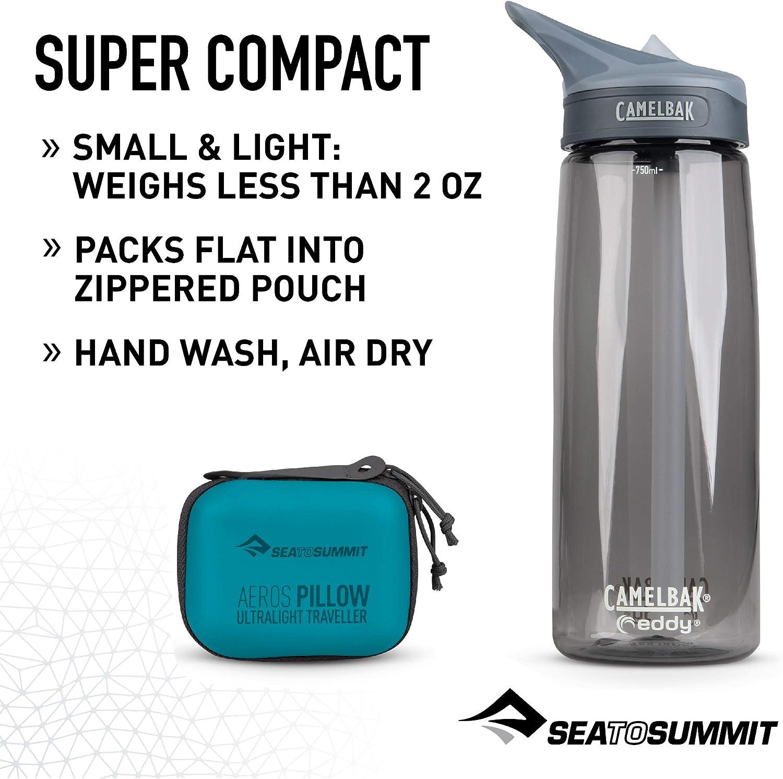 Sea to Summit Aeros Ultralight Pillow Traveller Almohada Monta/ñismo Alpinismo y Trekking Unisex Adulto