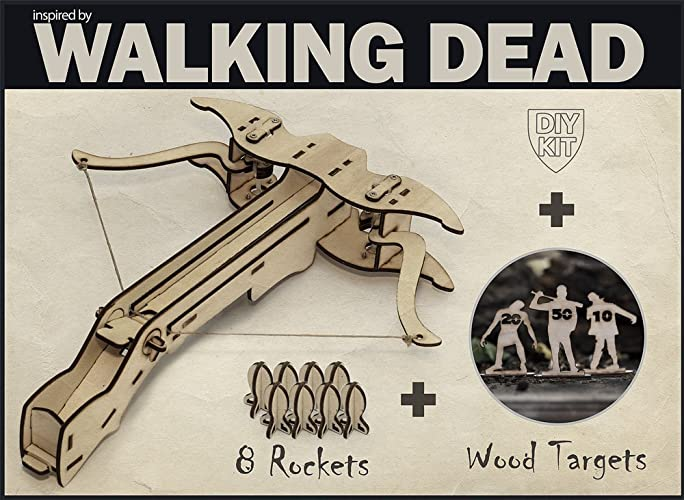 Amazon the walking dead inspired diy crossbow kit with 8 quotthe walking deadquot inspired diy crossbow kit with 8 rockets and targets solutioingenieria Images