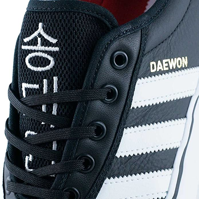 huge selection of 7d94e b7a82 adidas Adi-Ease Daewon Core BlackFootwear WhiteGold Metallic-6uk  Amazon.co.uk Shoes  Bags