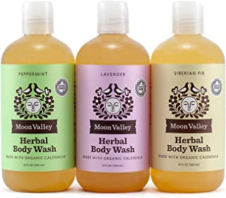 product image for HERBAL BODY WASH (3PACK) - LAVENDER, PEPPERMINT, SIBERIAN FIR