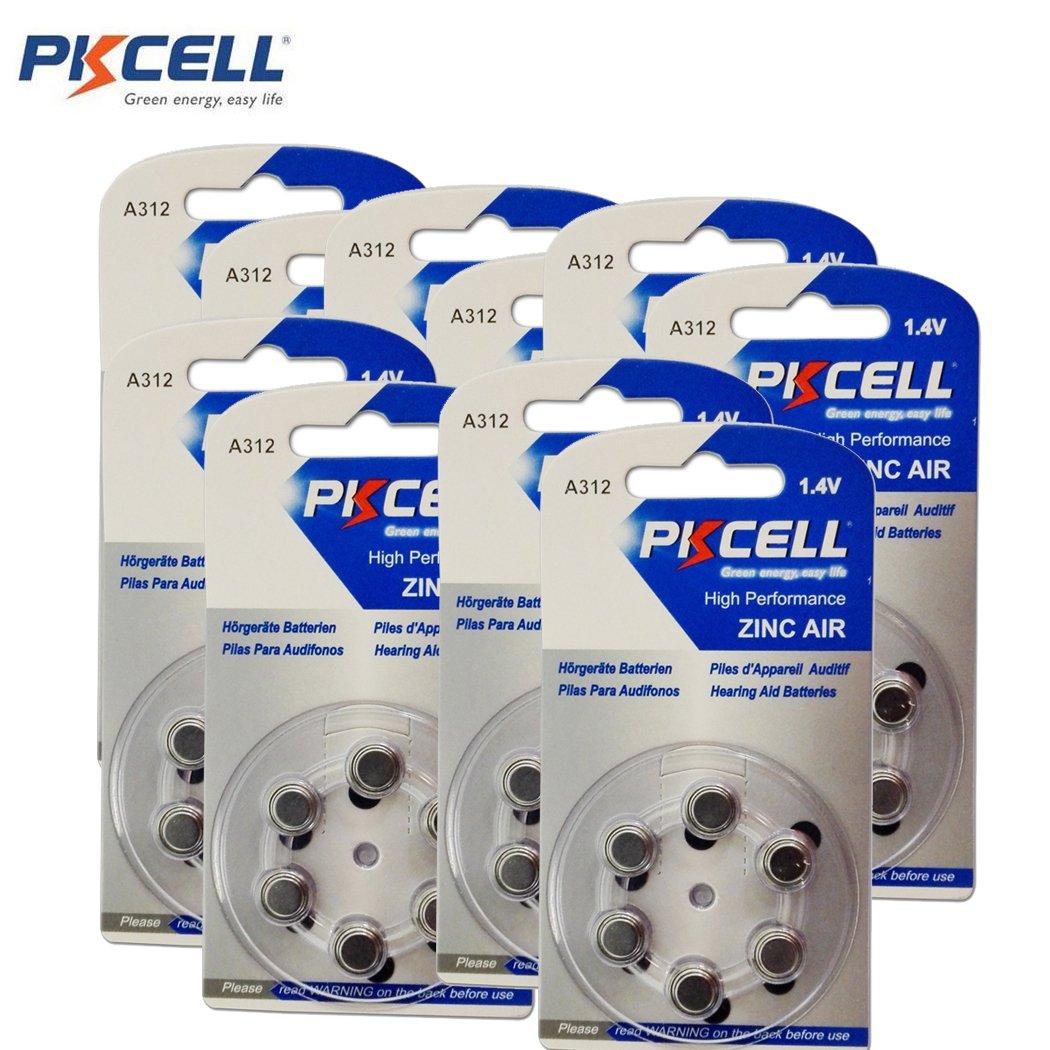 Cheap Zinc Air Hearing Aid Batteries Size 312 10 Cards 60