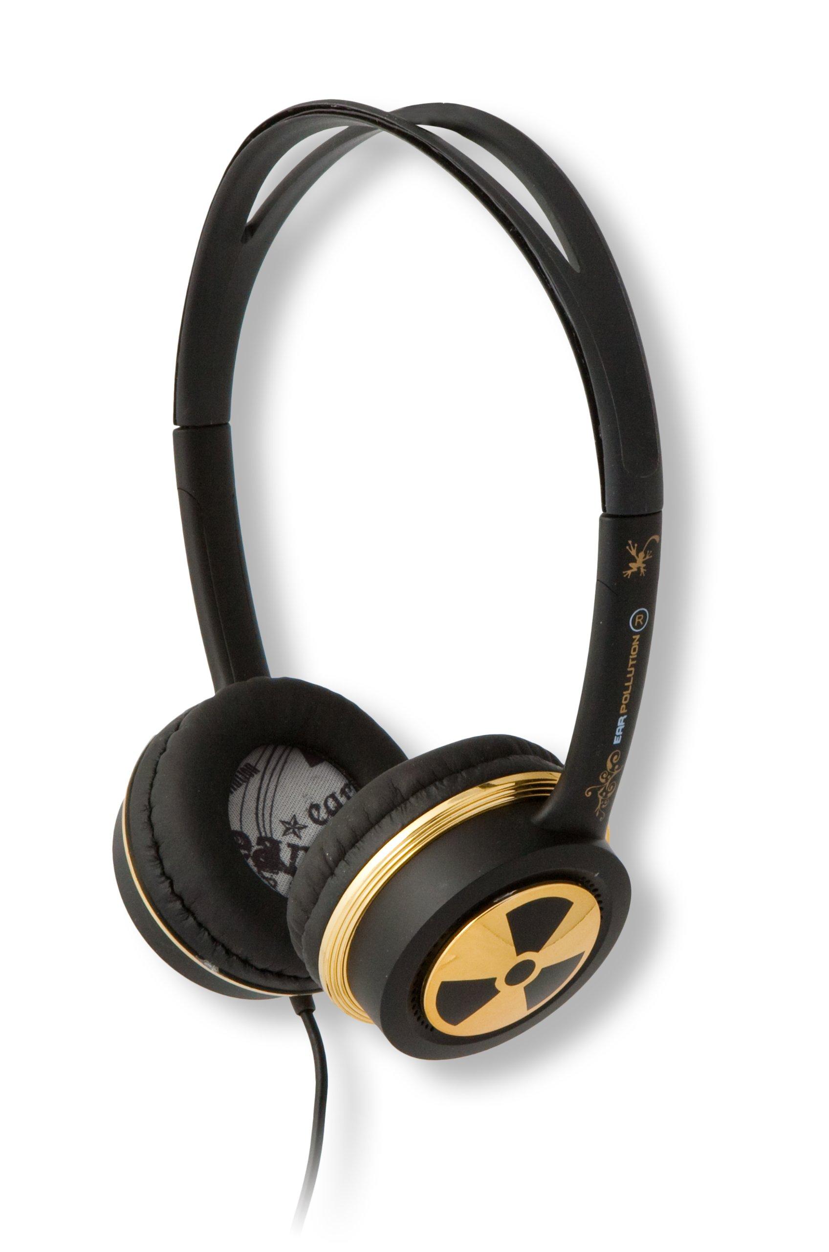 EarPollution Toxix Headphones - Gold (EP-TX-GOLD)