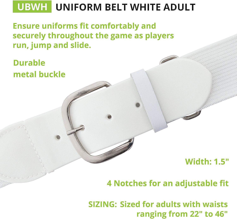 Champion Sports Adult Baseball//Softball Uniform Belt