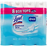 Lysol Disinfectant Spray 19 Oz Each 4/pk, Automotive, tool & industrial , Office maintenance, janitorial & lunchroom , Cleaning supplies , Air fresheners