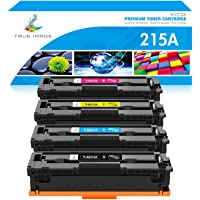 True Image Compatible Toner Cartridge Replacement for HP 215A W2310A W2311A W2312A W2313A 215X Color Laserjet Pro MFP…
