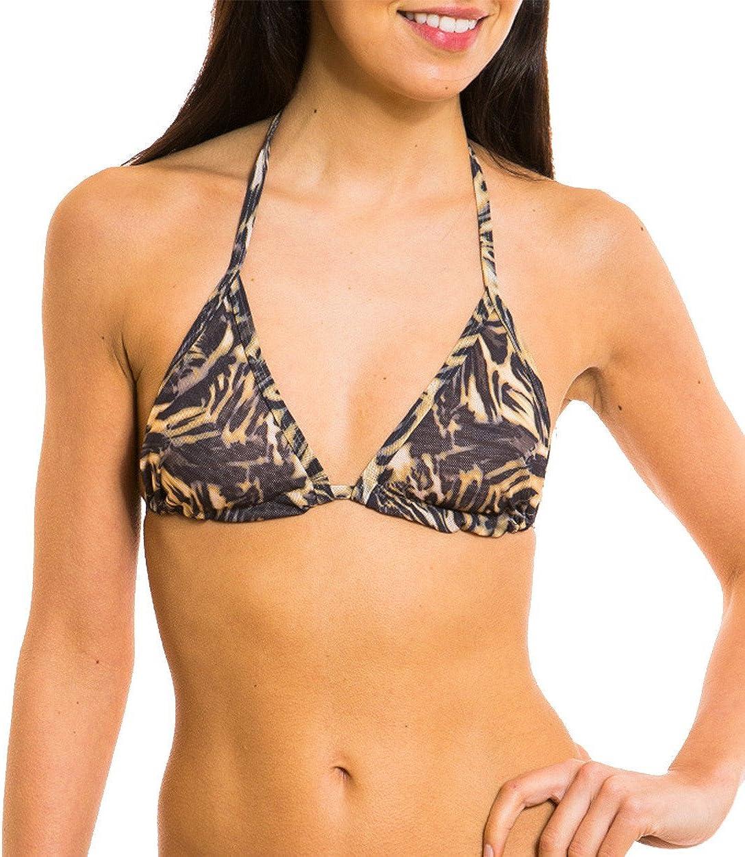 Kiniki Amalfi Tan Thru Sonnendurchl/ässiges Bikini Oberteil