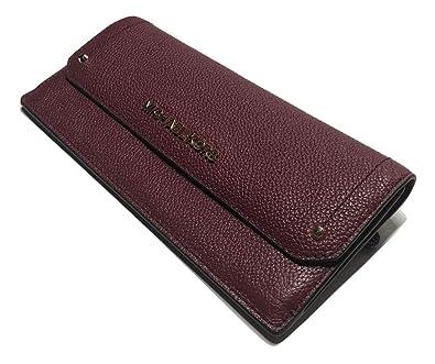 806f53ed022e Amazon.com: MICHAEL Michael Kors Hayes Flat Wallet (Mulberry): Shoes