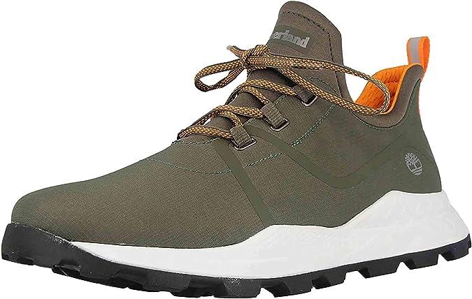 Timberland Brooklyn Fabric Oxford Grape Leaf - Zapatillas para hombre (tallas grandes), color verde, color Verde, talla 49 EU: Amazon.es: Zapatos y complementos