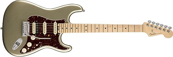 American Elite Stratocaster HSS Shawbucker MN Champagne: Amazon.es: Instrumentos musicales