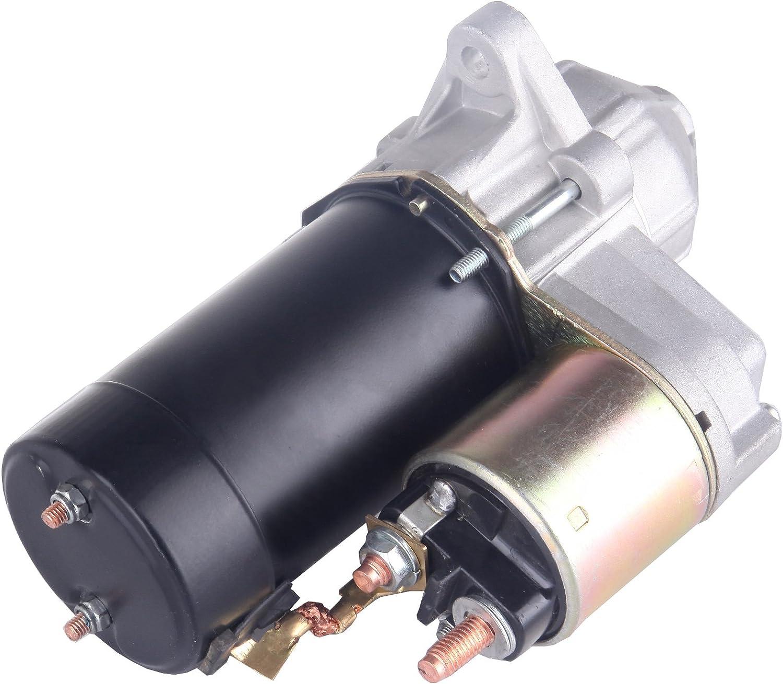 Scitoo New starter for 94-02 Saturn SC1 SC2 SL SL1 SL2 SW1 SW2 Base Coupe 1.9L L4 18645 3084981 3090188