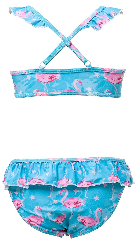 Snapper Rock Girls Sports Ruffle Bikini