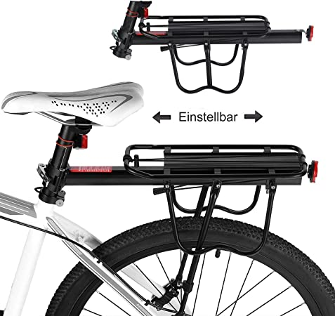 Bicicleta Portabultos, Baiker Aluminio Portaequipajes Bicicleta ...