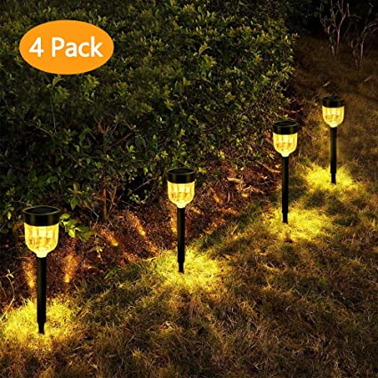 Amazon.com: Luces solares para exteriores, para jardín ...