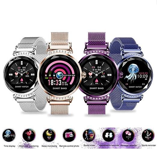 Sincerest Elegant Smart Watch Women Heart Rate Blood Pressure Fitness Pedometer Female Physiological Cycle Waterproof Smartwatch Bracelet Fashion ...