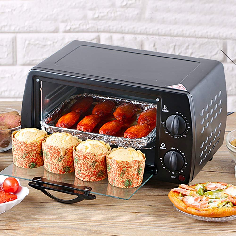MIAOLEIE Mini Oven Electric-Oven-Power Multifunction Stainless-Steel Electric Oven Stove-Machine Bread-Toaster Pizza-Cake,220V British Standard