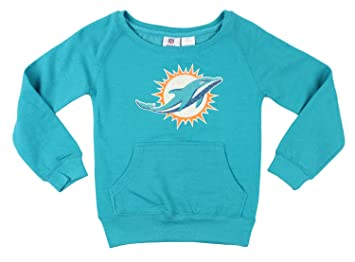 8602f8a5f Amazon.com : Miami Dolphins NFL Big Girls Large Patch Fleece ...