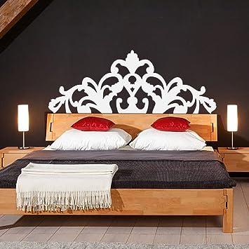 Klassische Bett-Kopfteil, für Doppelbetten, Vinyl, Wanddeko ...