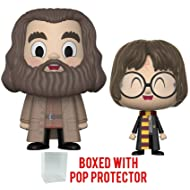 Funko Vynl Movies: Harry Potter - Rubeus Hagrid and Harry Potter 2-pack Vinyl Figure (Bundled with Pop Box Protector Case)