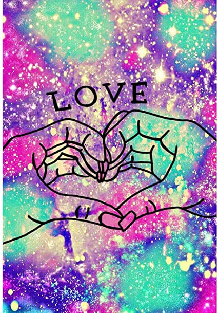 30*40cm Perfect for Gift Home Wall Decor Red Heart Shaped Floral Tree Full Drill Rhinestone Art Painting by Numbers SOSPIRO Tree Love Heart Diamond Painting DIY 5D Diamond Painting Kits for Adults