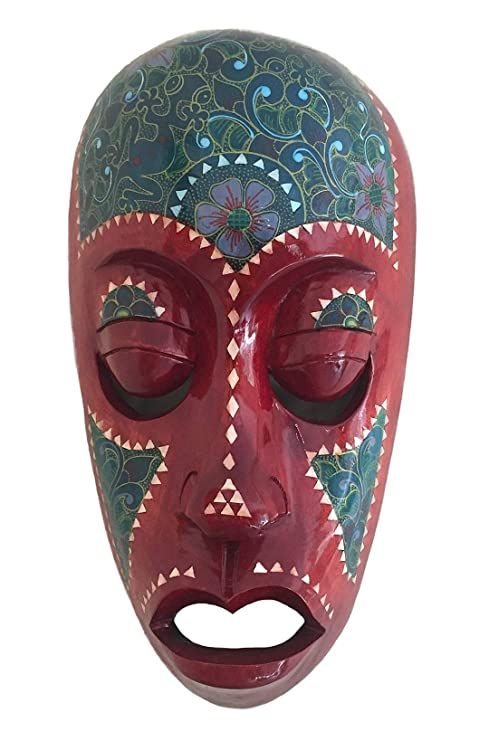 Oma - Máscara de Madera para Pared, diseño de la Suerte en ...
