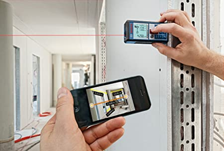 Iphone Entfernungsmesser : Bosch professional laser entfernungsmesser glm 100 c micro usb