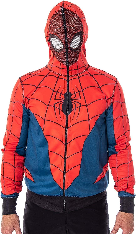Spider-Man Homecoming Peter Parker Red Hoodie Sweatshirt Cosplay Costume Coat