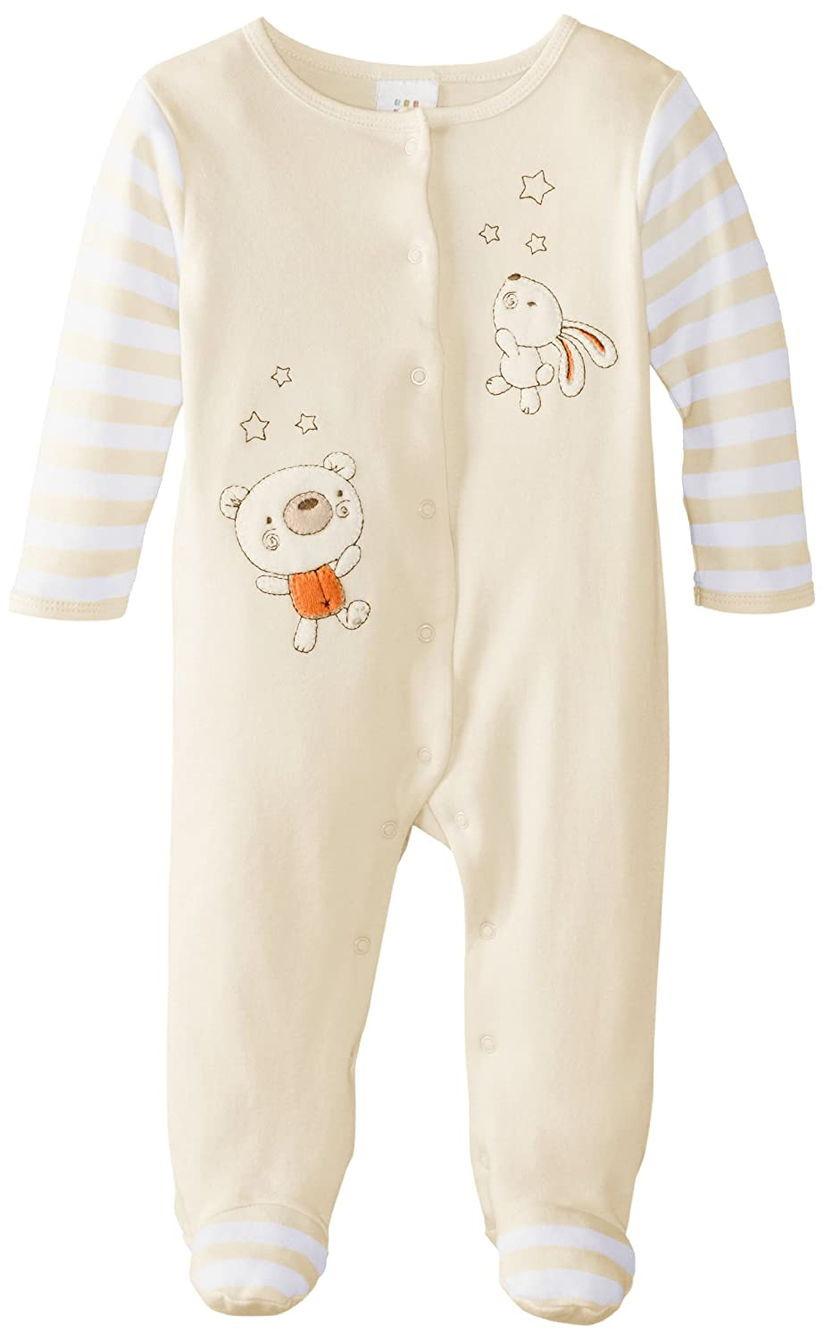 415ad6e9973d Amazon.com  Disney Baby Newborn Neutral Bear Footie