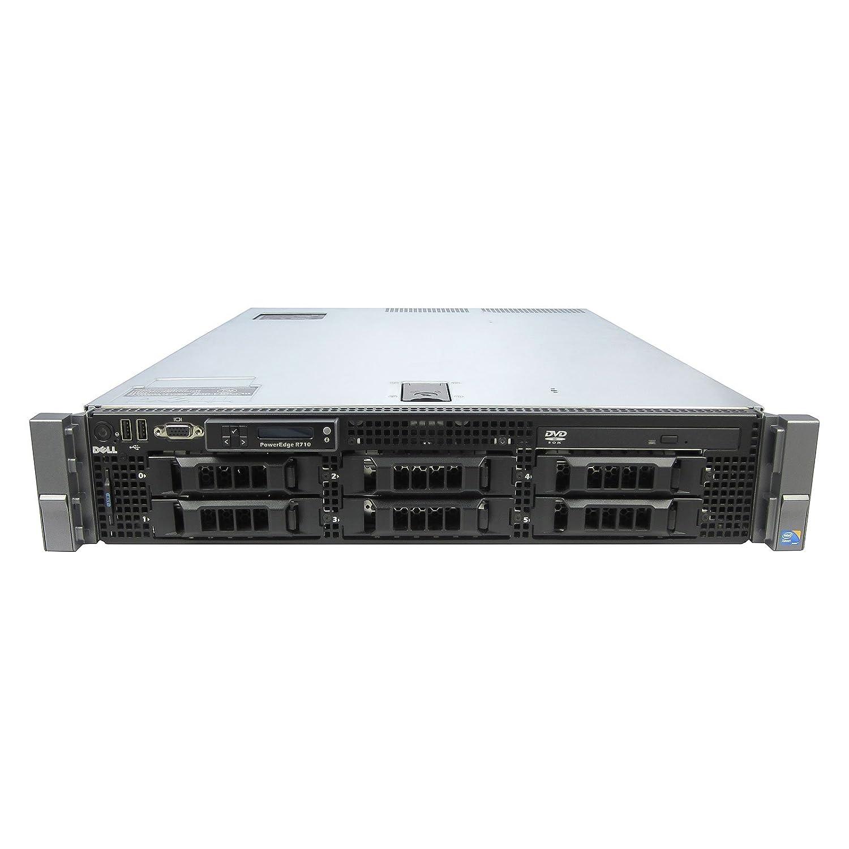 DELL PowerEdge R710 2 x 2 53Ghz E5540 Quad Core 72GB 6x 1TB 6i 2PS
