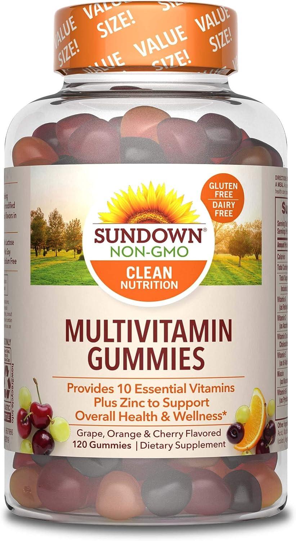 Sundown Adult Multivitamin, 120 Gummies