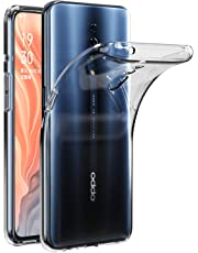 for Oppo Reno Z Soft Gel Clear Transparent Shockproof TPU Thin Slim Case Cover