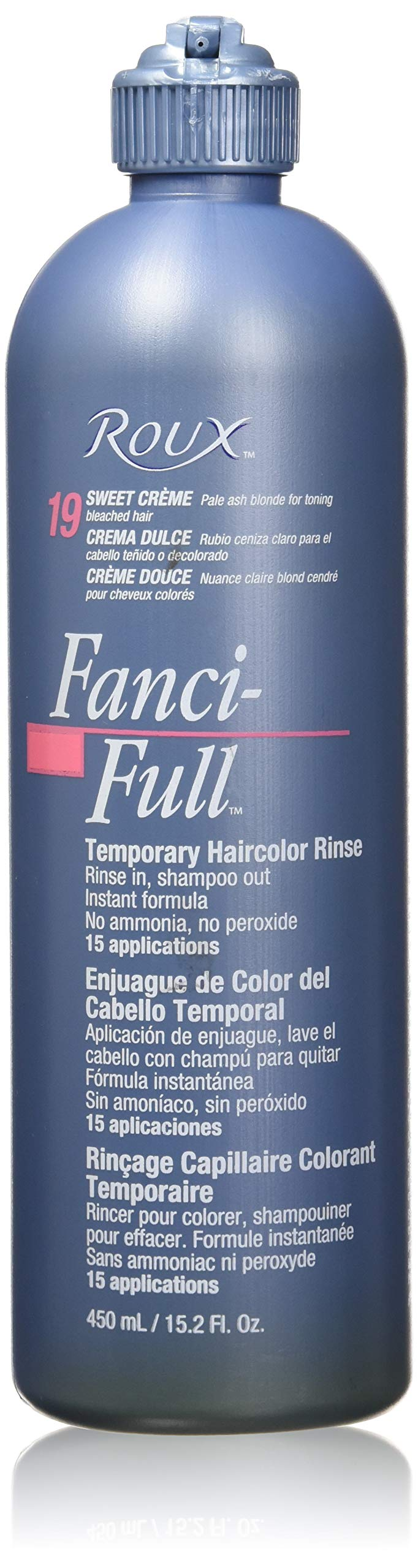 Roux Fanci-Full Rinse, 19 Sweet Cream, 15.2 Fluid Ounce