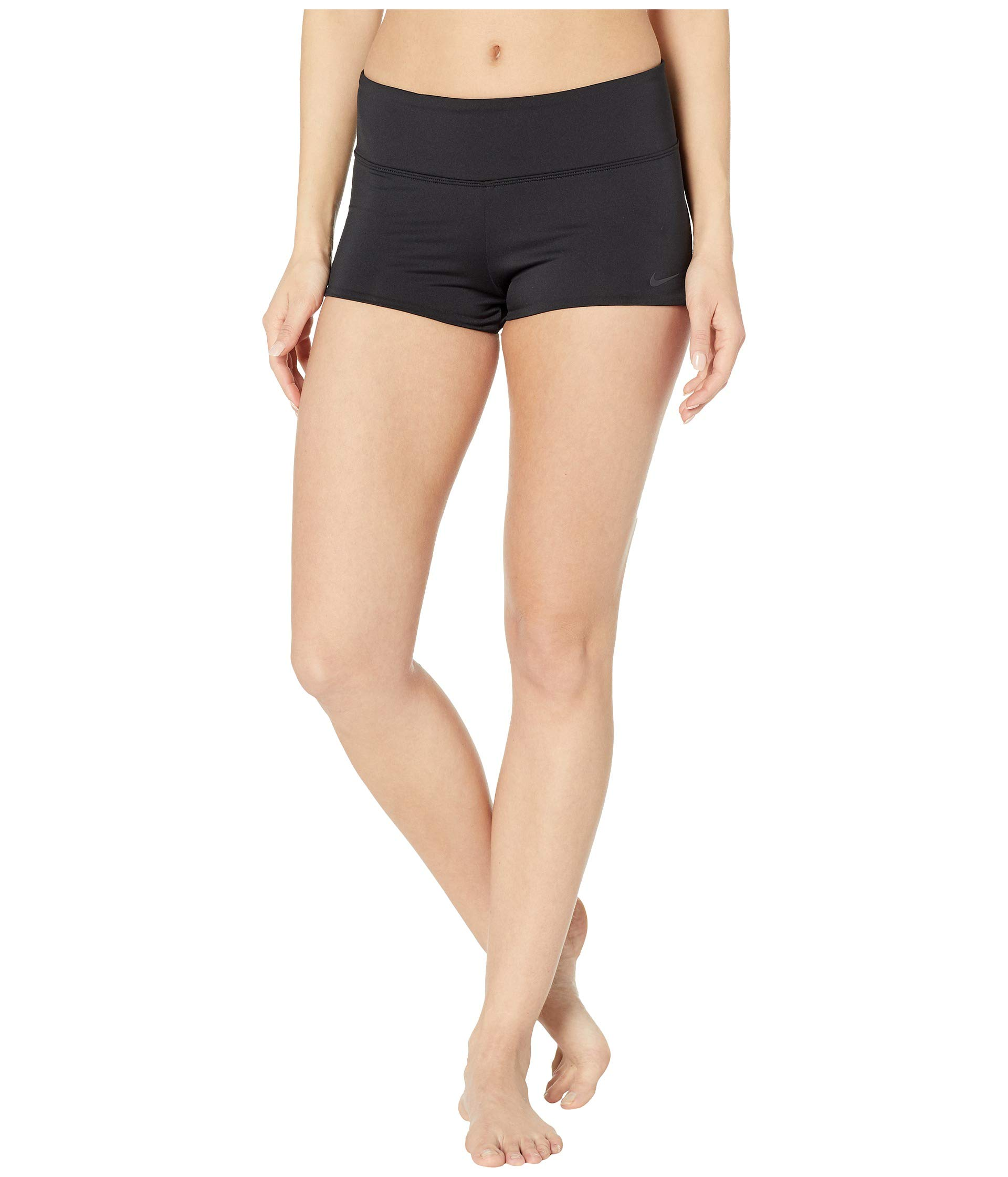 Nike Women's Solid Kick Shorts Black X-Small by Nike
