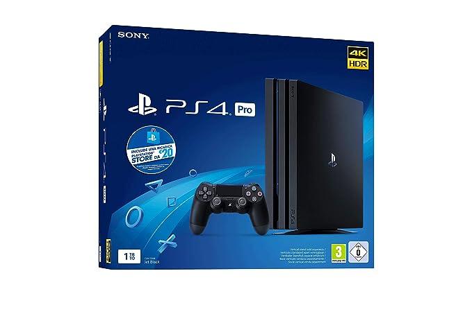 72 opinioni per PlayStation 4 PRO Gamma Chassis + PS Live Card 20€ [Esclusiva Amazon.it]